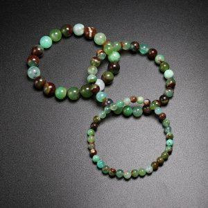 Bracelet pour homme pierre de jade