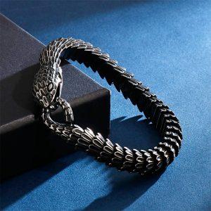 Bracelet serpent dark et sombre