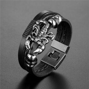 Bracelet signe astrologique scorpion