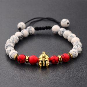 Bracelet spartiate blanc