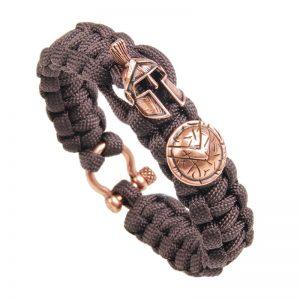 Bracelet spartiate pour homme