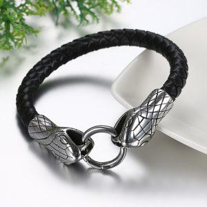 Bracelet tete de serpent