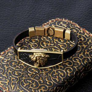 Bracelet tigre homme noir