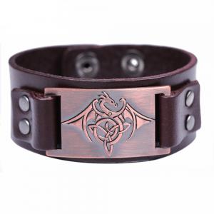 Bracelet tribal homme cuivré