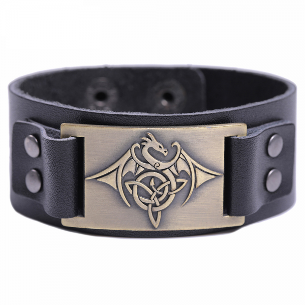 Bracelet tribal homme dragon