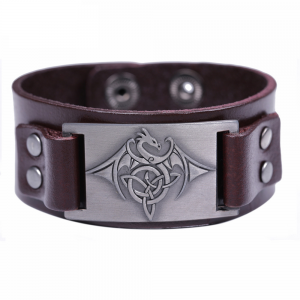 Bracelet type tribal homme