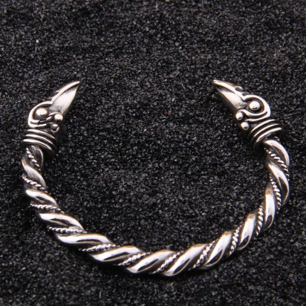 Bracelet viking acier inoxydable