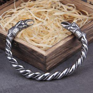Bracelet viking acier inoxydable masculin