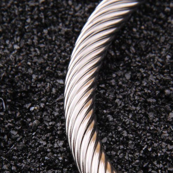 Bracelet viking scandinave acier inoxydable