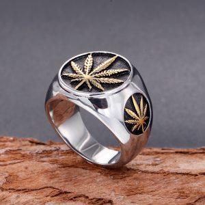 Chevaliere homme cannabis