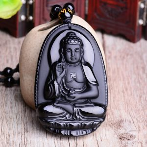 Collier bouddhiste homme bouddha
