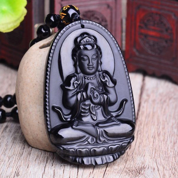 Collier bouddhiste pour homme
