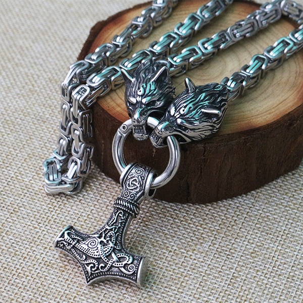 Collier celtique homme